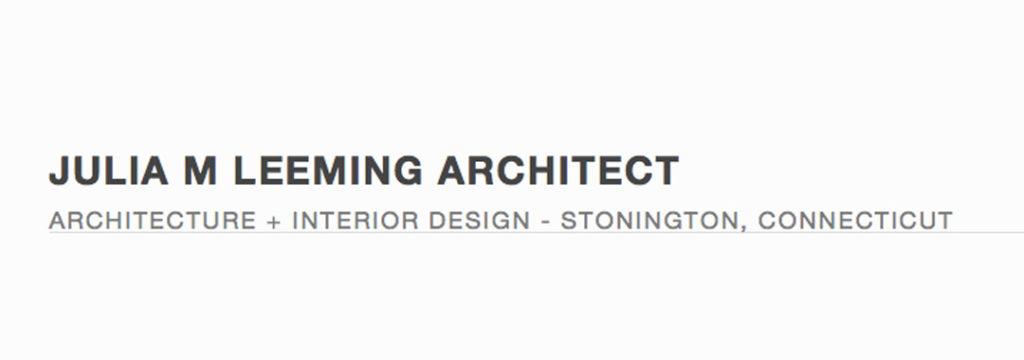 Julia Leeming Architect