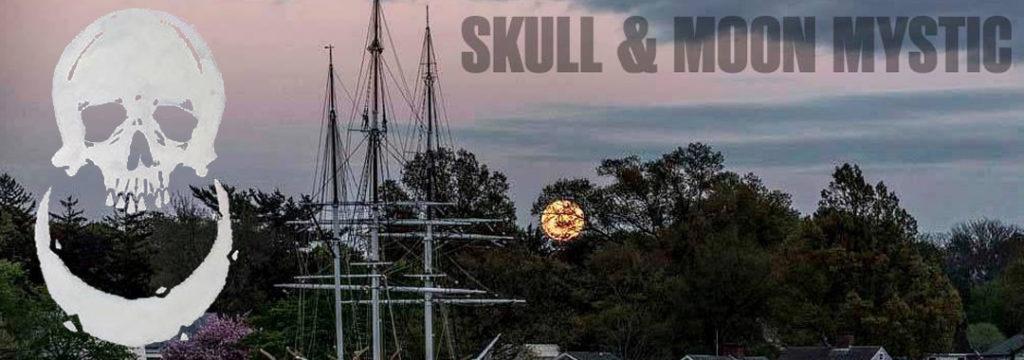 Skull and Moon