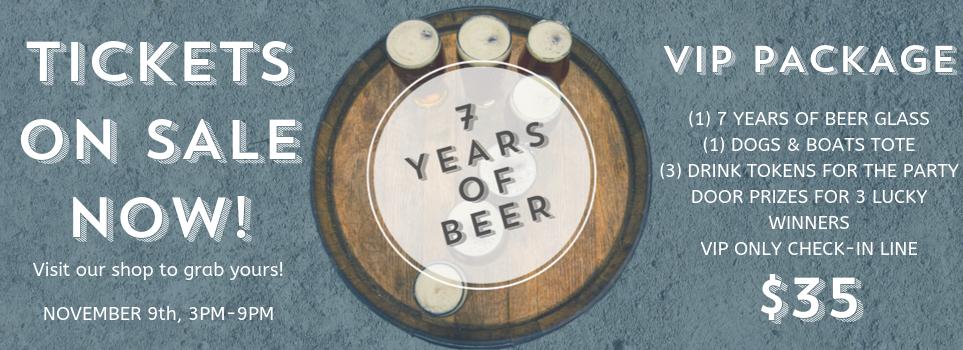 7 Years of Beer